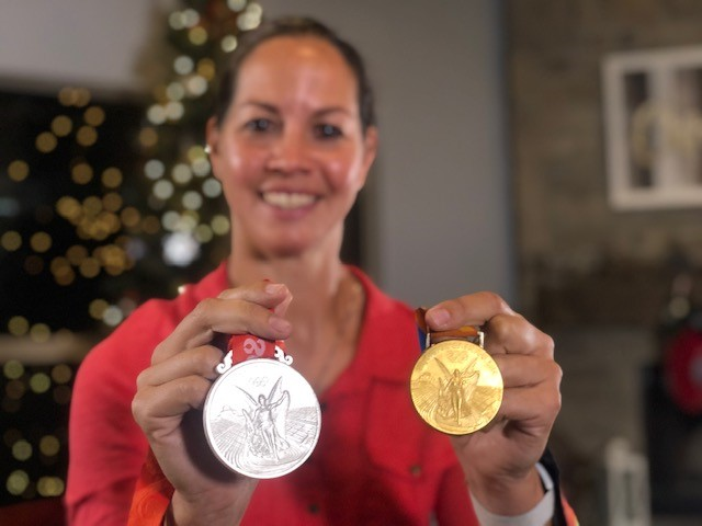 Cat Osterman Olympic medals 11720