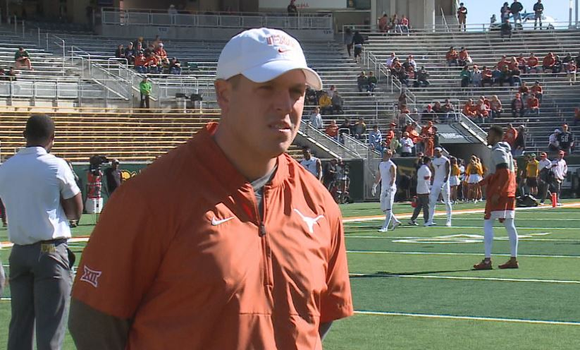 Report: Texas assistant taking New Mexico offensive coordinator job