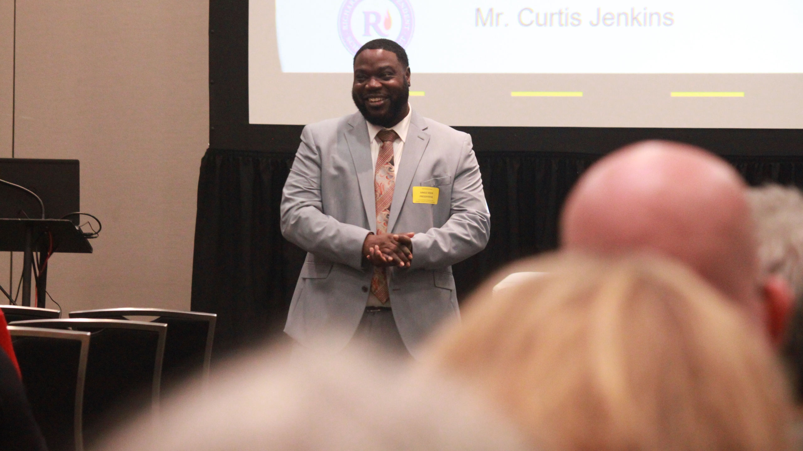 Curtis Jenkins TASA conference