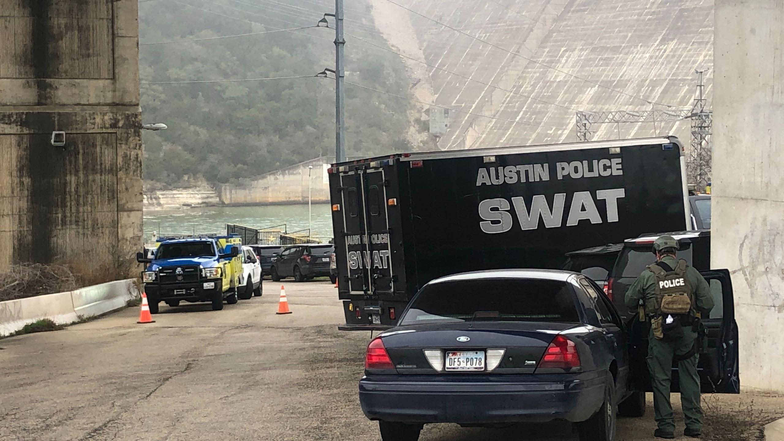 Law enforcement at Mansfield Dam