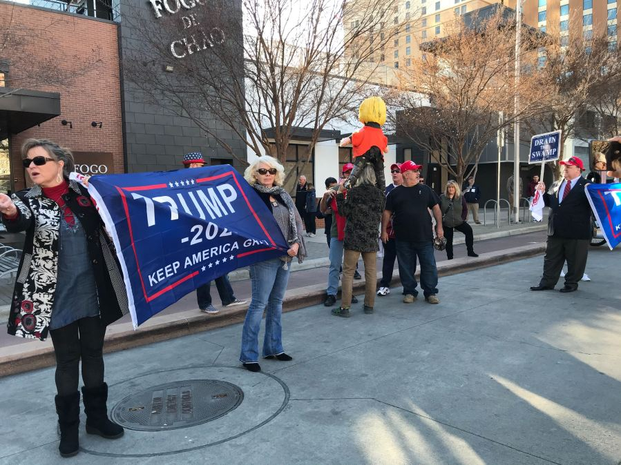 Tump rally supporters 1-19-20