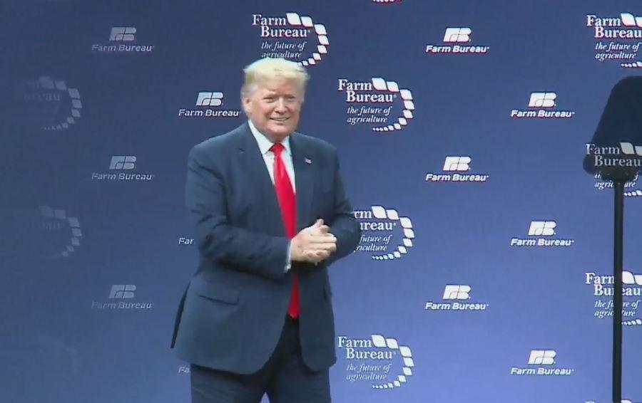 Trump at Farm Bureau convention