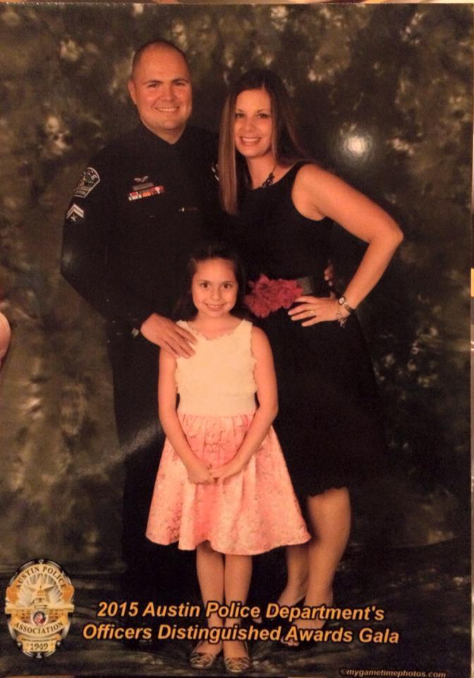 The Bujanos family at the 2015 APD awards banquet (Bujanos Family Photo)