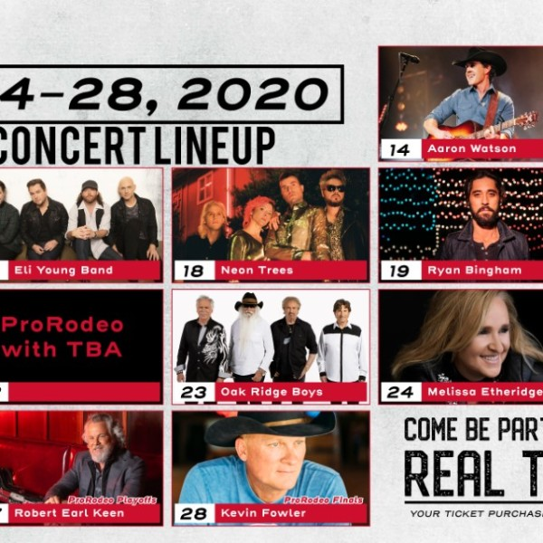 Rodeo Austin 2020 line up
