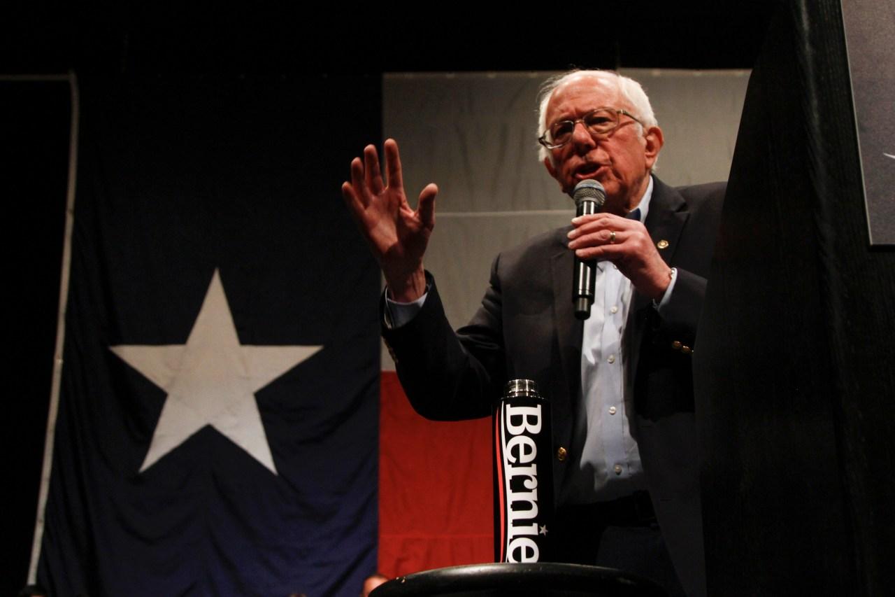 Sen. Bernie Sanders holds rally in Austin on the heels of Nevada win