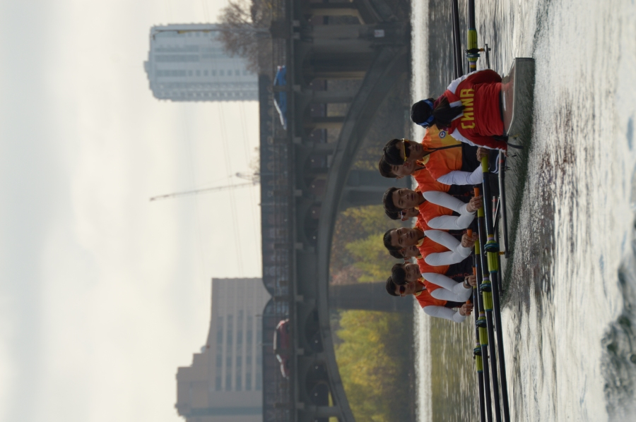 Chinese National Rowing Team 12-2019