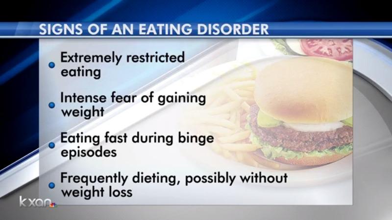 Eating disorder awareness week graphic