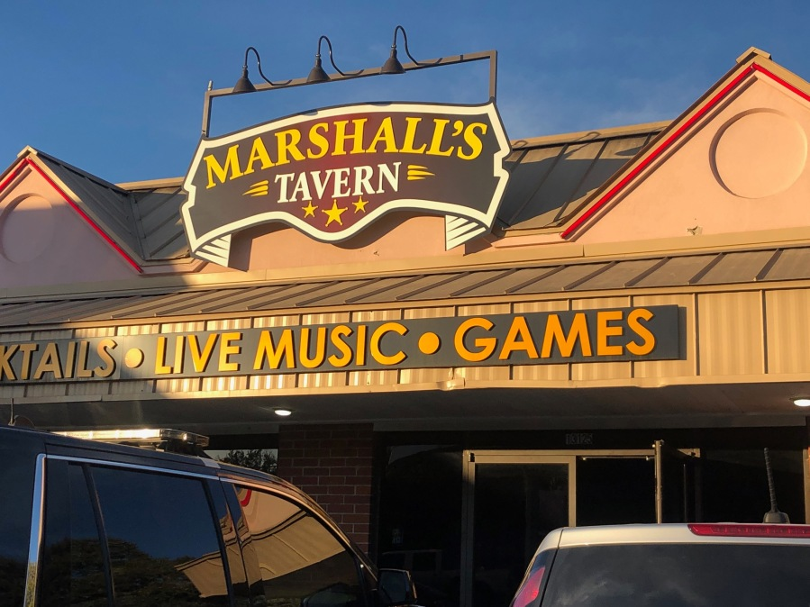 DPS troopers were at Marshall's Tavern on Pond Springs Road Feb. 7, 2020 (KXAN Photo/Frank Martinez)