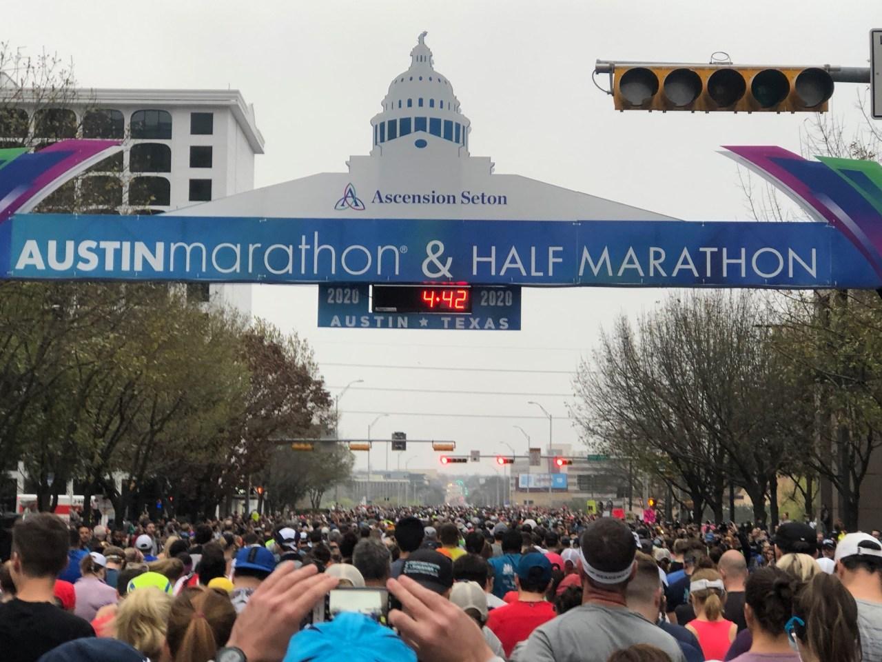 2020 Austin Marathon was delayed due to 'traffic safety concerns'