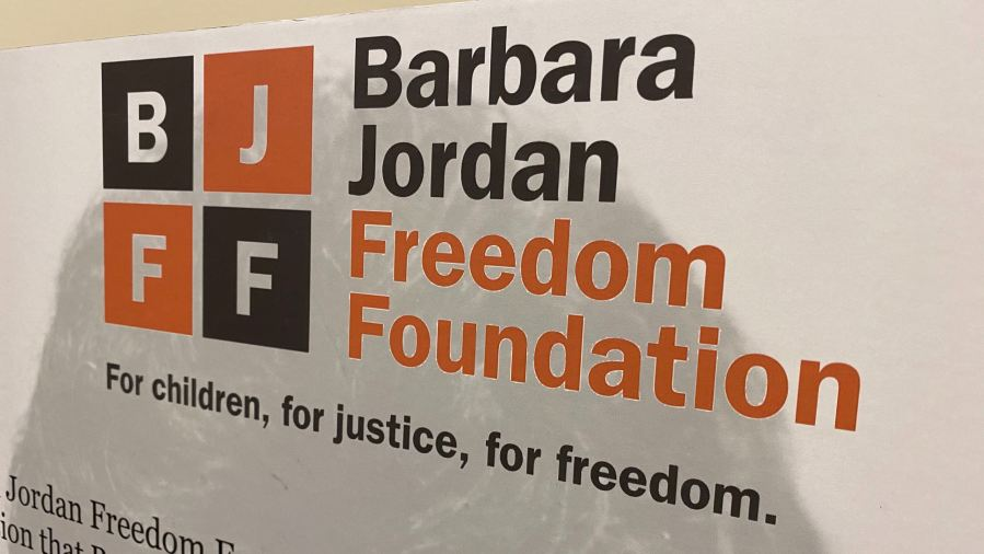 Barbara Jordan exhibit