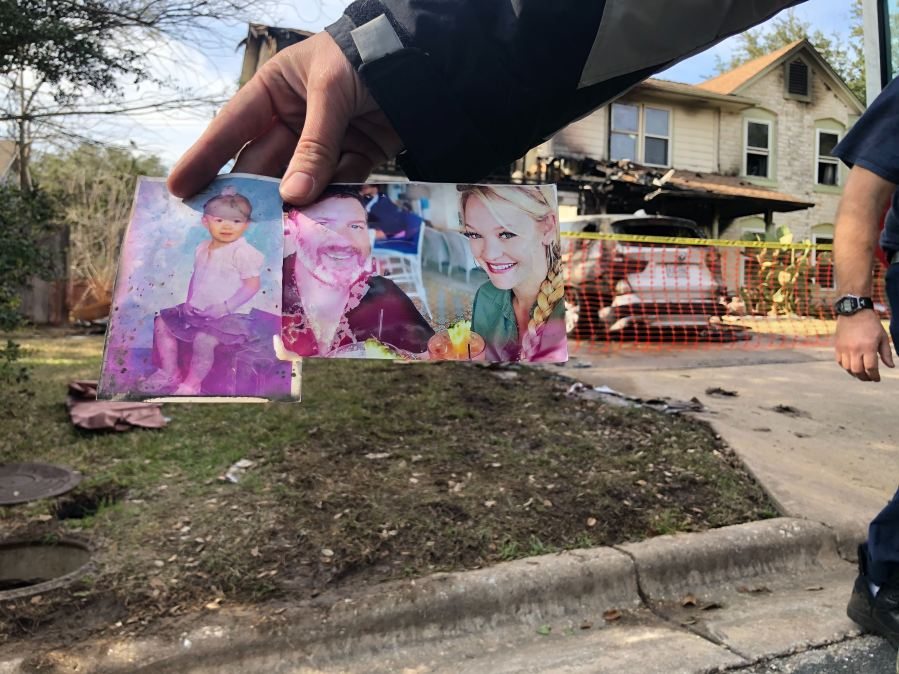 Northwest Austin family escapes home explosion early Saturday morning