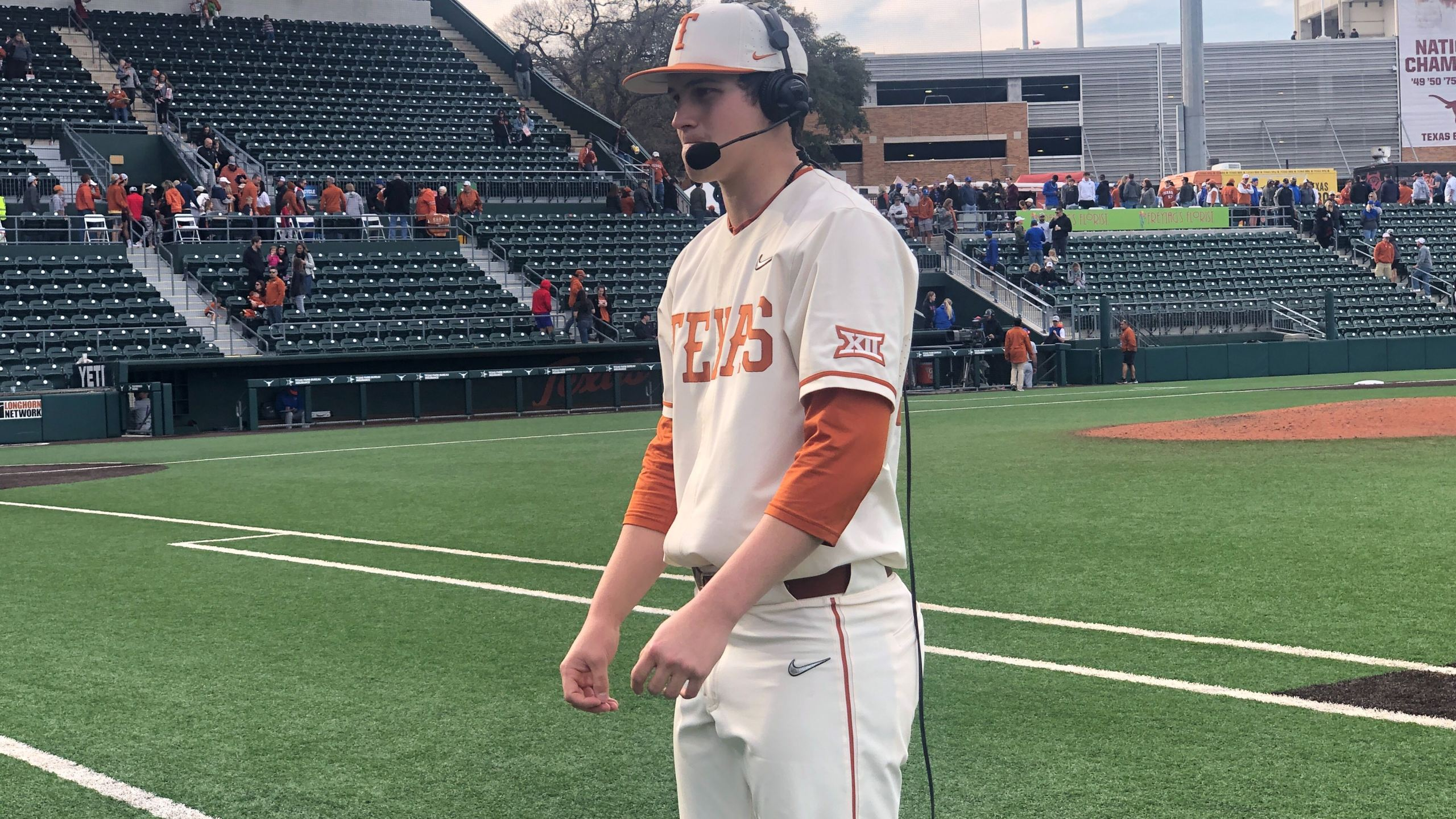 Longhorns pitcher Ty Madden
