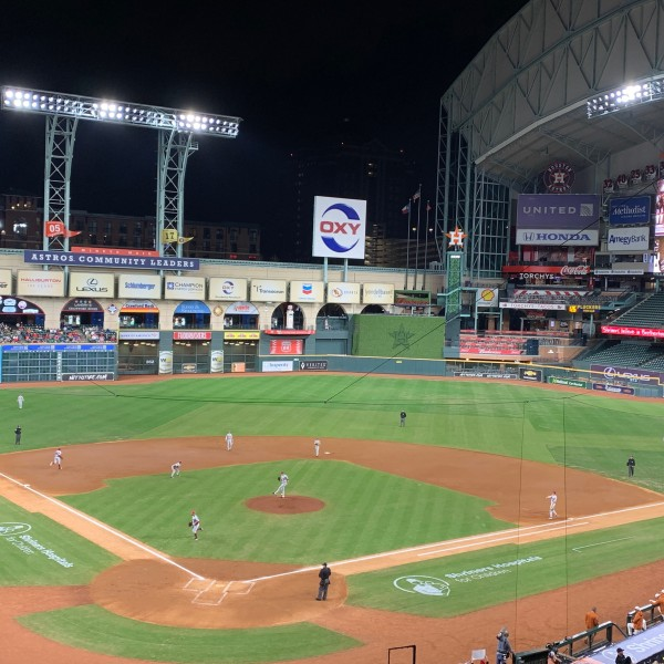 Minute Maid Park UT college classic