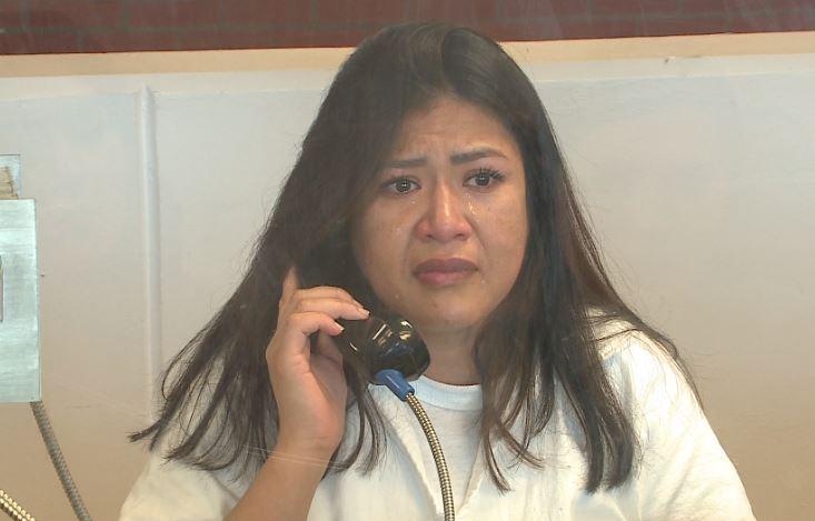 Rosa Jimenez at the Mountain View Unit in Gatesville (KXAN Photo/Frank Martinez)