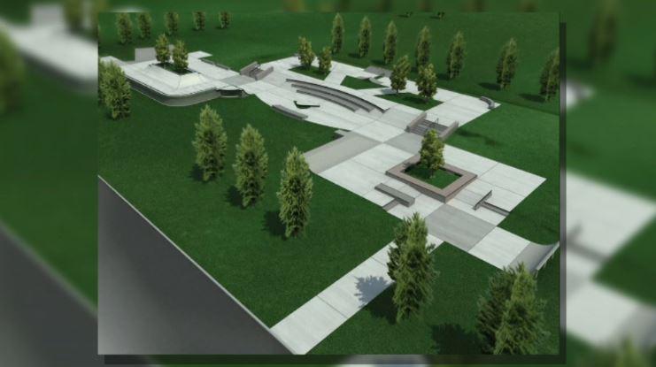 drip skate park rendering