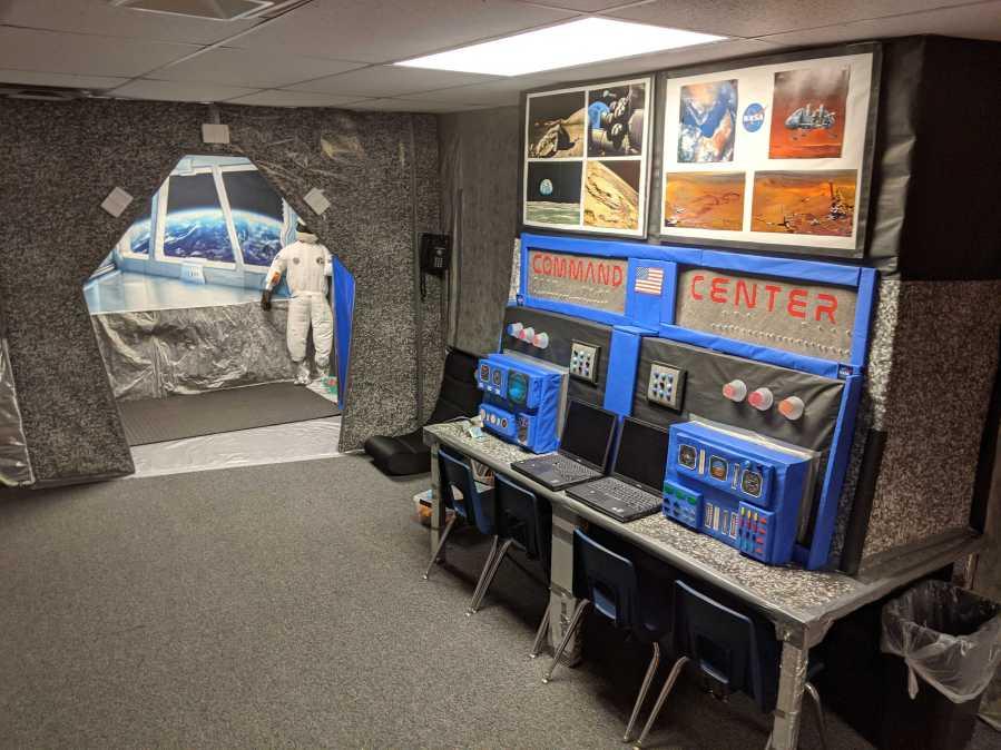 round rock spaceship command center