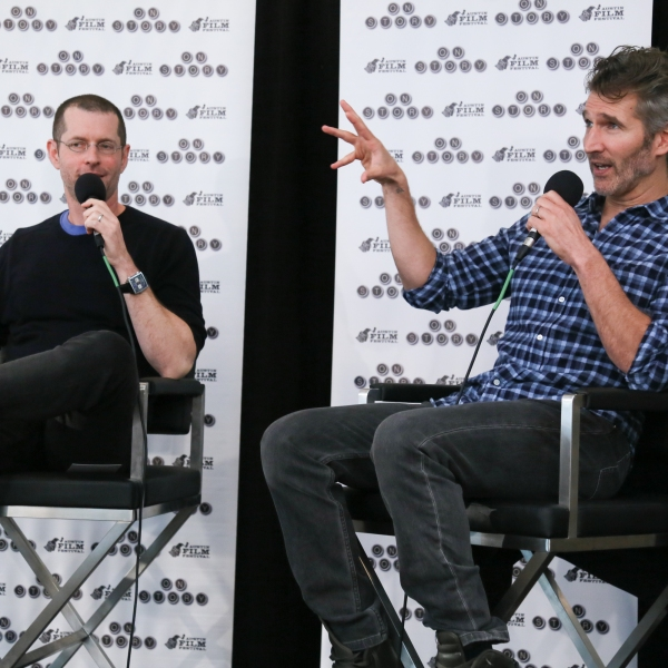 A Conversation with David Benioff and D.B. Weiss / Courtesy: Jack Plunkett