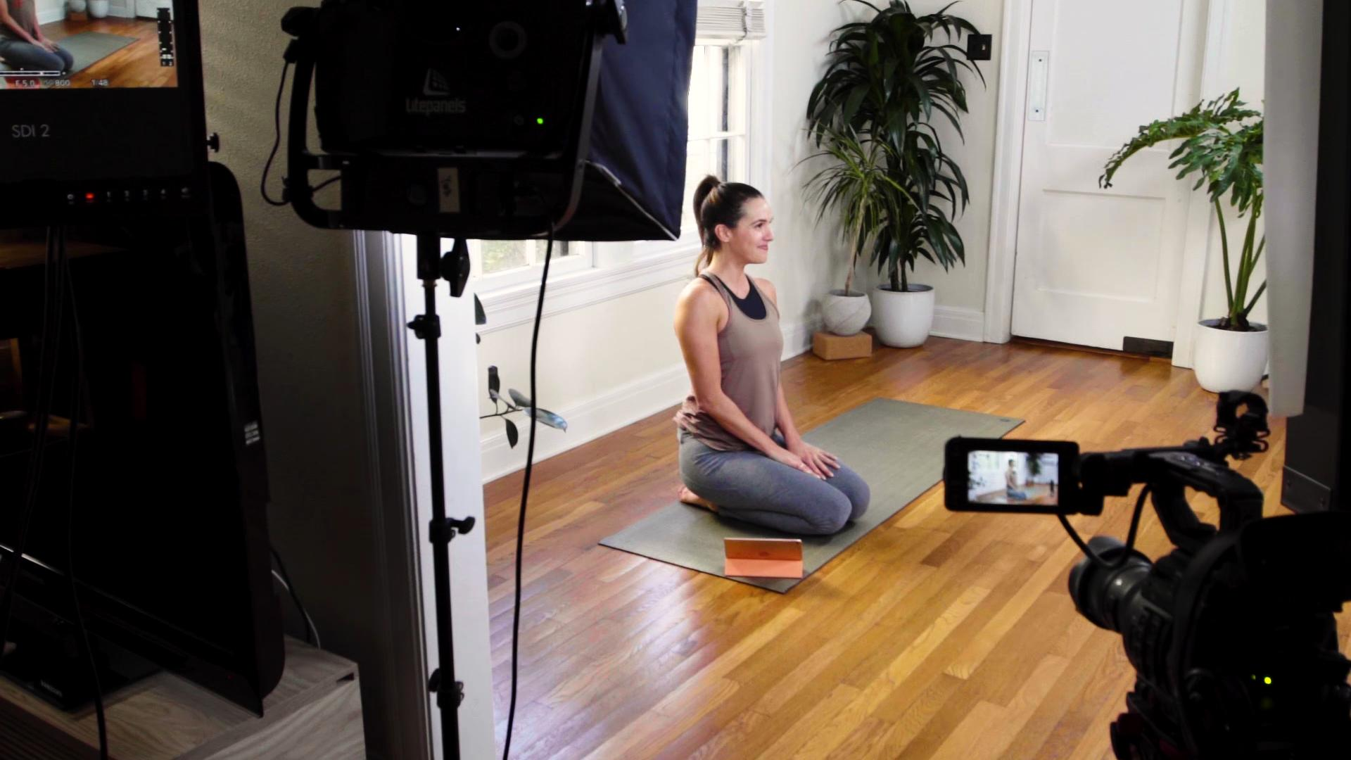 Austin Youtube Yoga Star Adriene Mishler On Caring For Your Whole Self During Isolation Kxan Austin
