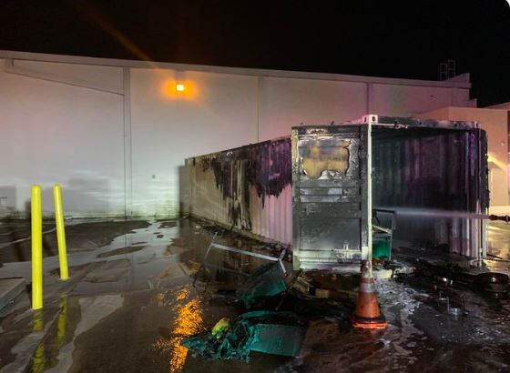 South Austin HEB trailer fire