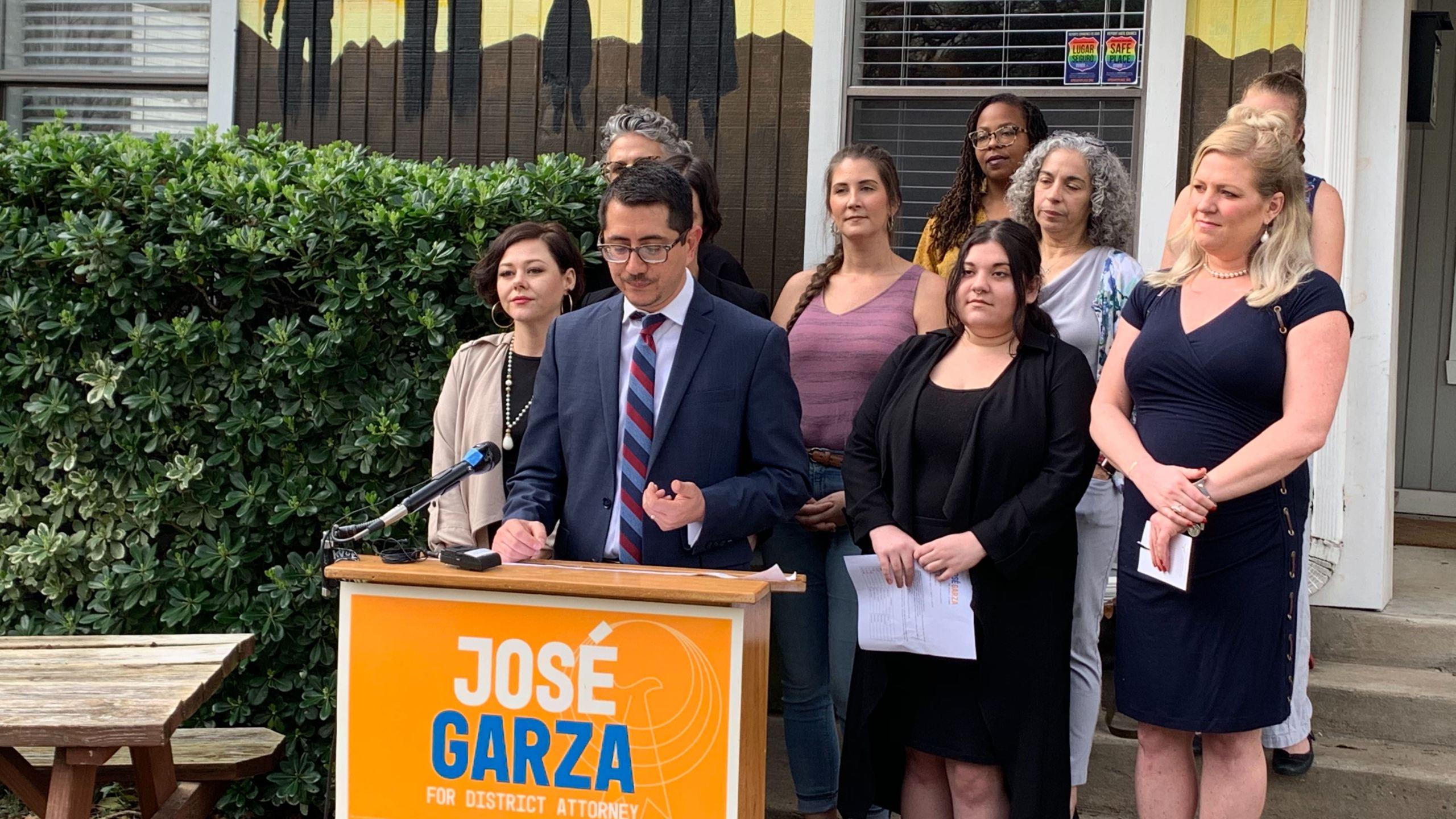 Jose Garza support