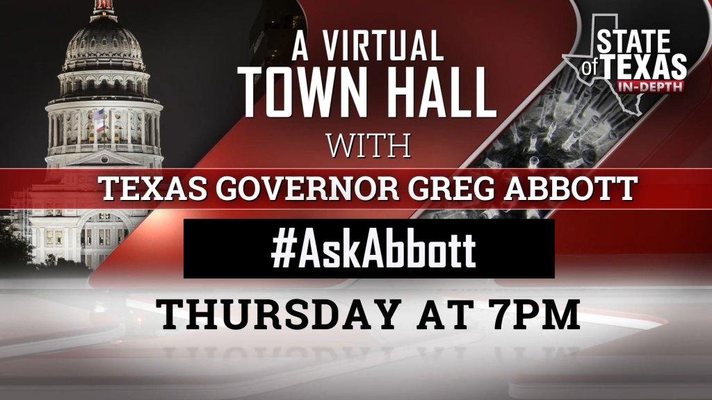 #AskAbbott Thu 3/19 at 7pm