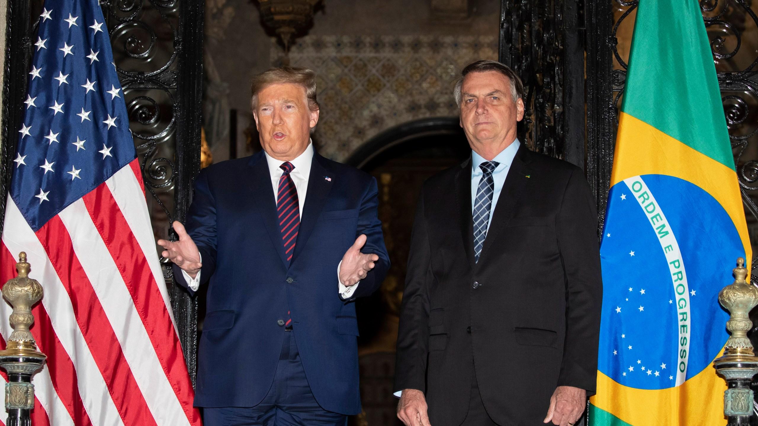 Donald Trump, Jair Bolsonaro, Trump