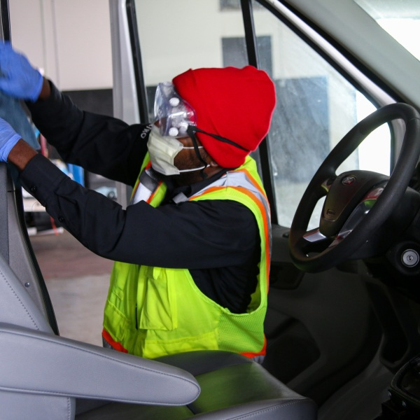 Capital Metro cleaning