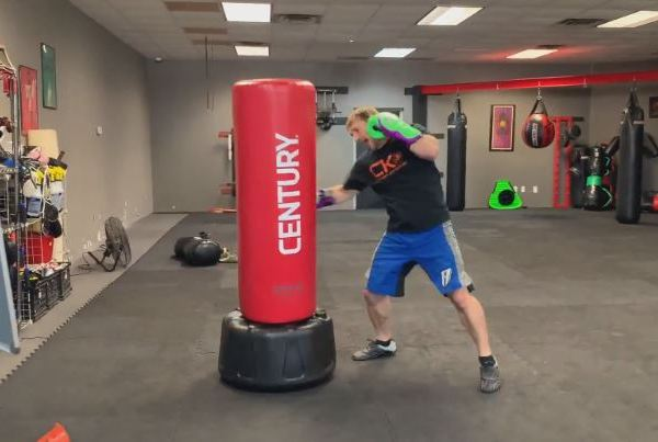 forrest caudill punching bag
