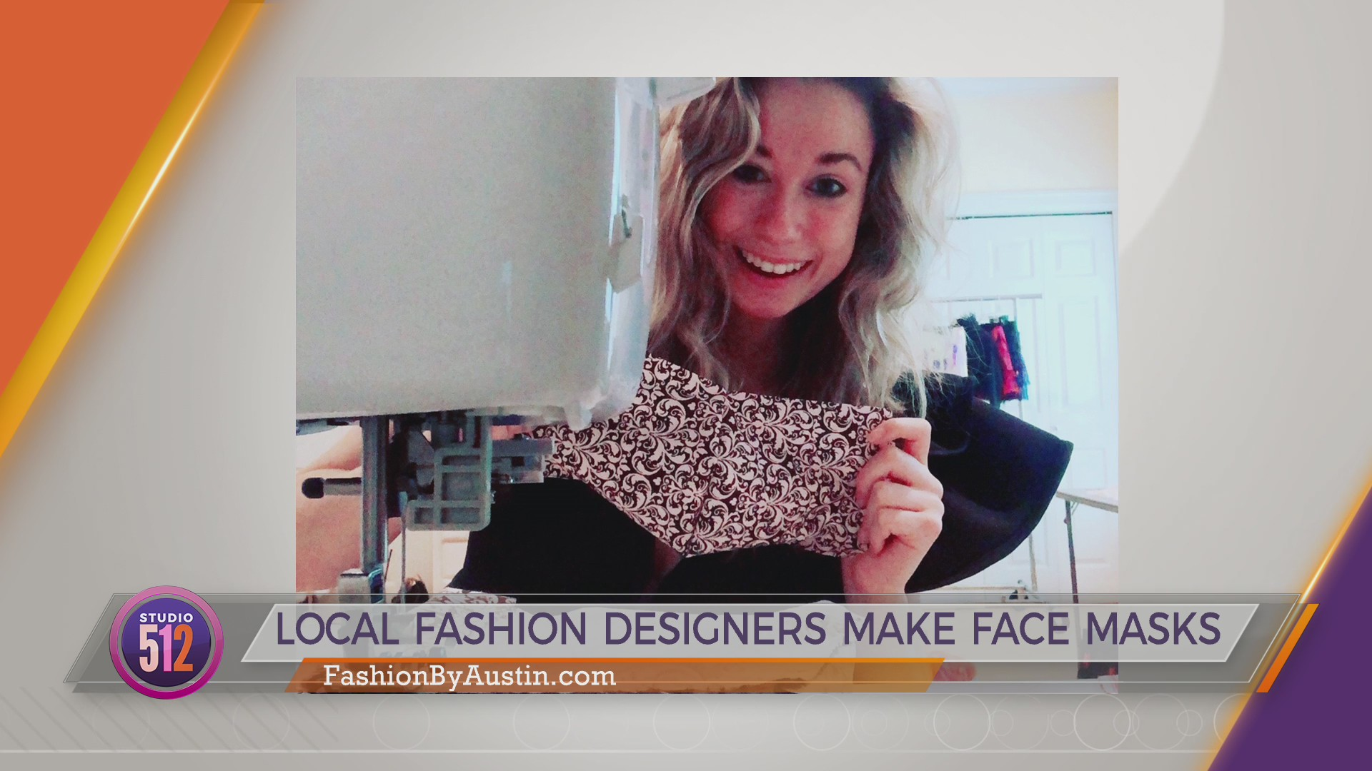 Local Fashion Designers Make Face Masks Kxan Austin