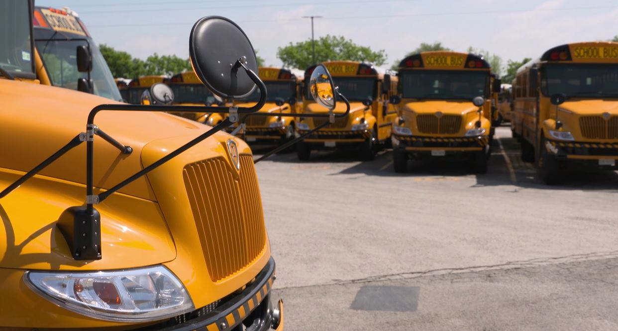 AISD buses (KXAN Photo)