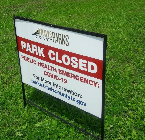 travis county parks closed