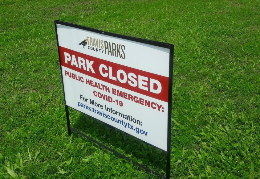 Multiple Travis County parks close early again after hitting capacity limits