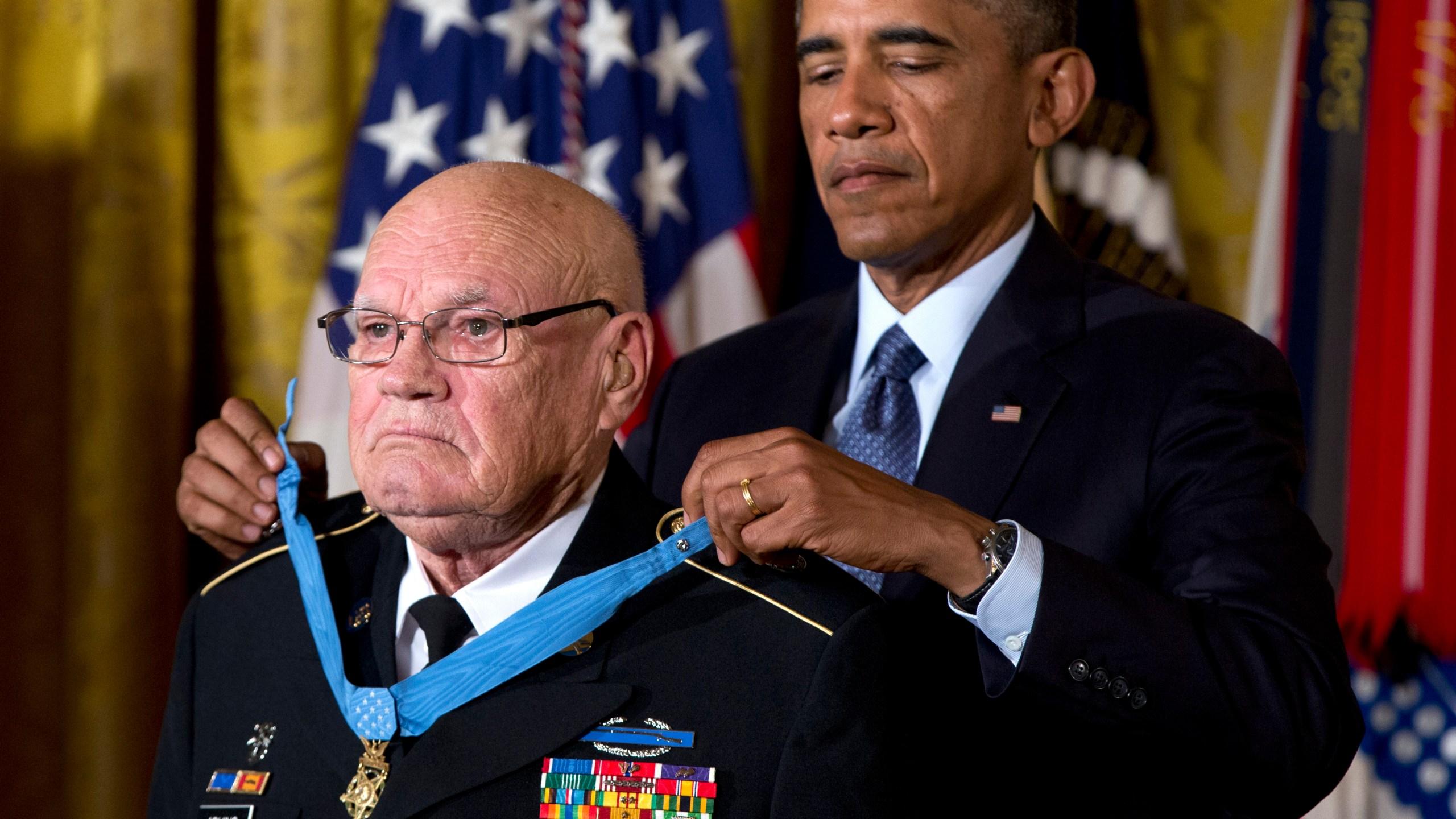 Barack Obama, Bennie G. Adkins