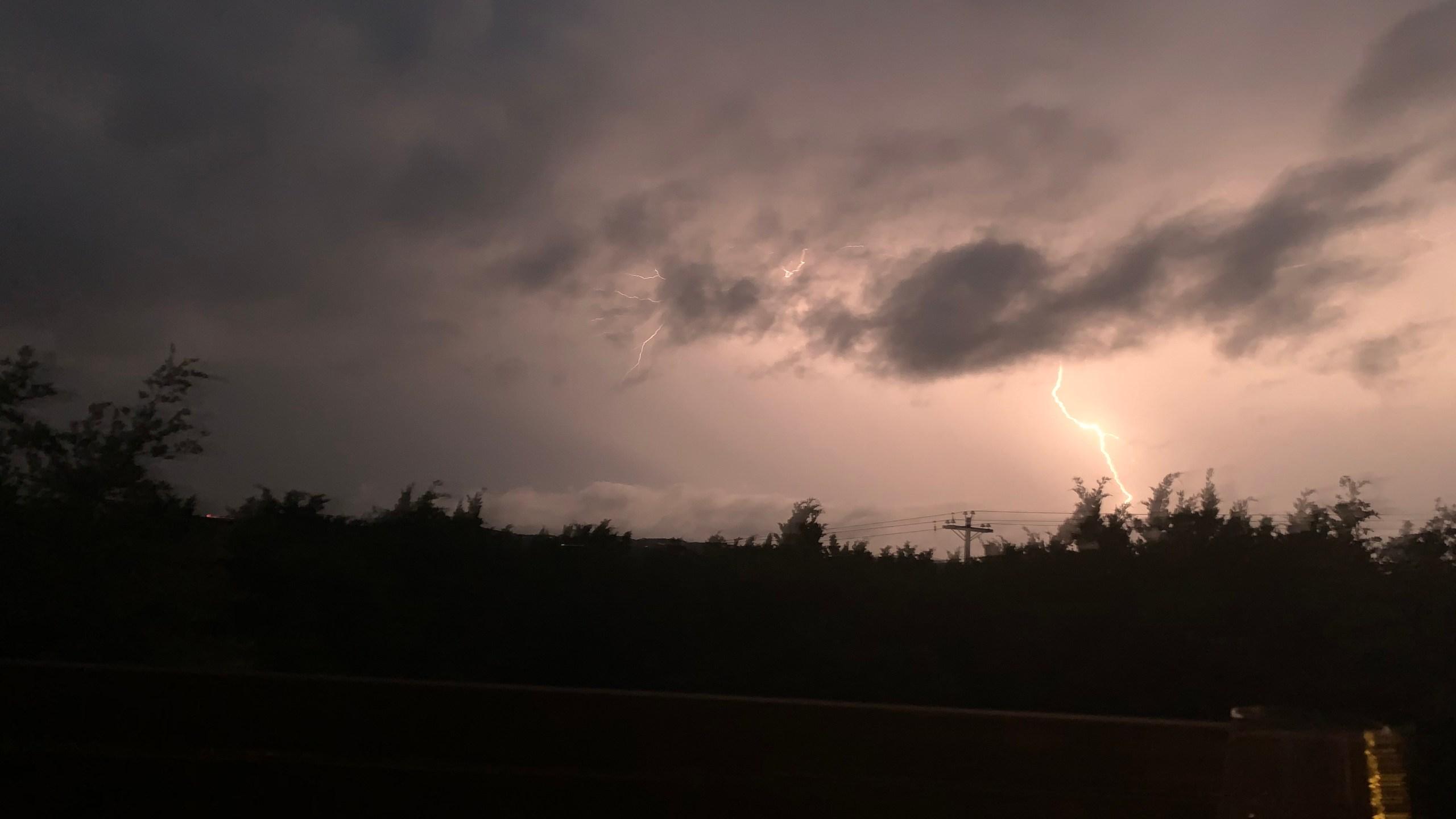 Lightning severe storms 5-24-20