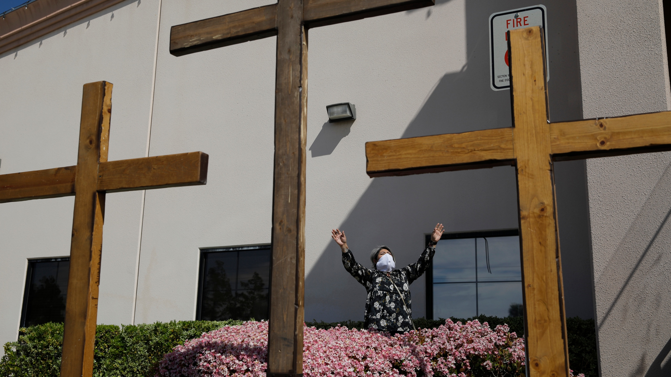 Churches offer healing during pandemic, protests