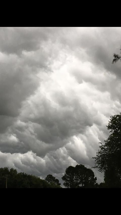 Photos of storm from Cedar Creek May 12, 2020 (Courtesy Charles Gilley)