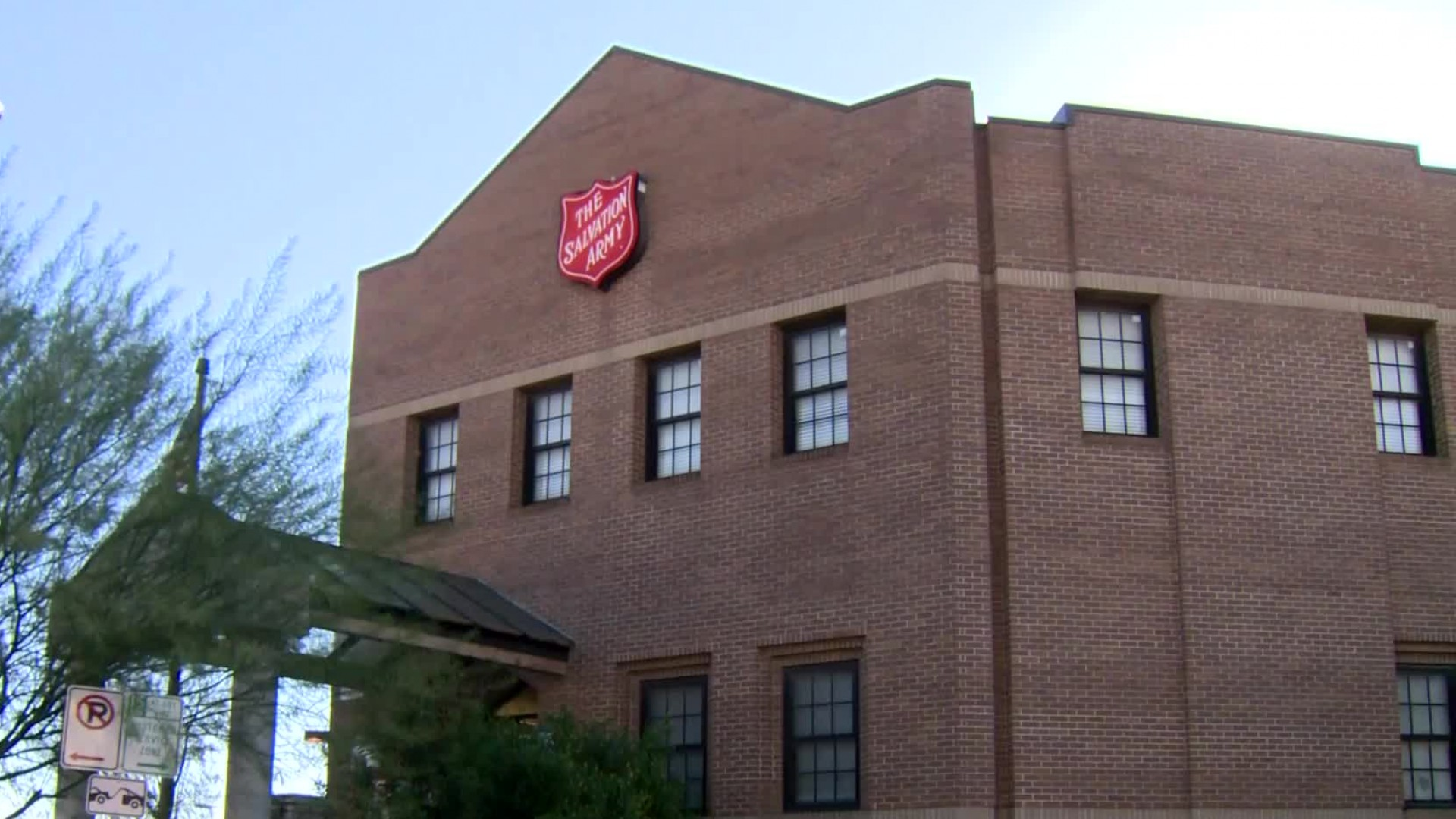 The Salvation Army's Downtown Shelter in Austin (KXAN Photo)