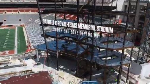 DKR Texas Football construction update