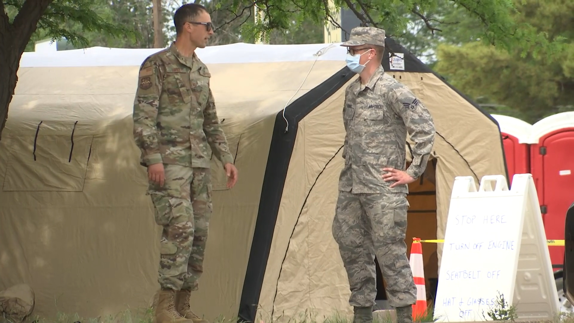 HOCKLEY COUNTY TX MILITARY COVID19 TEST