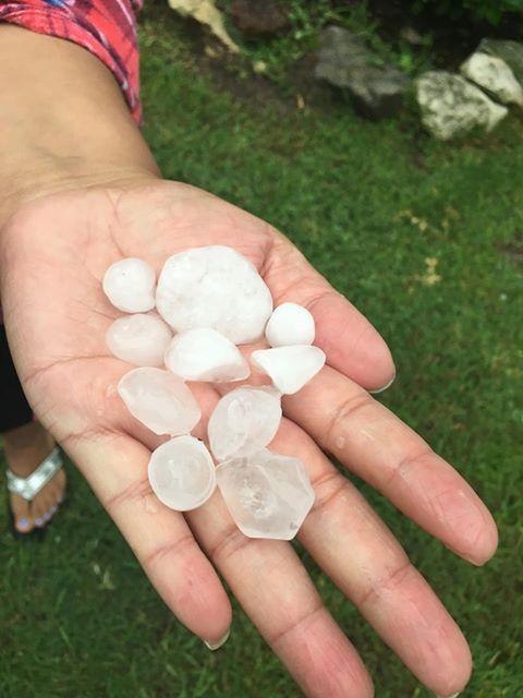 Hail in Giddings (2) 5-24-20