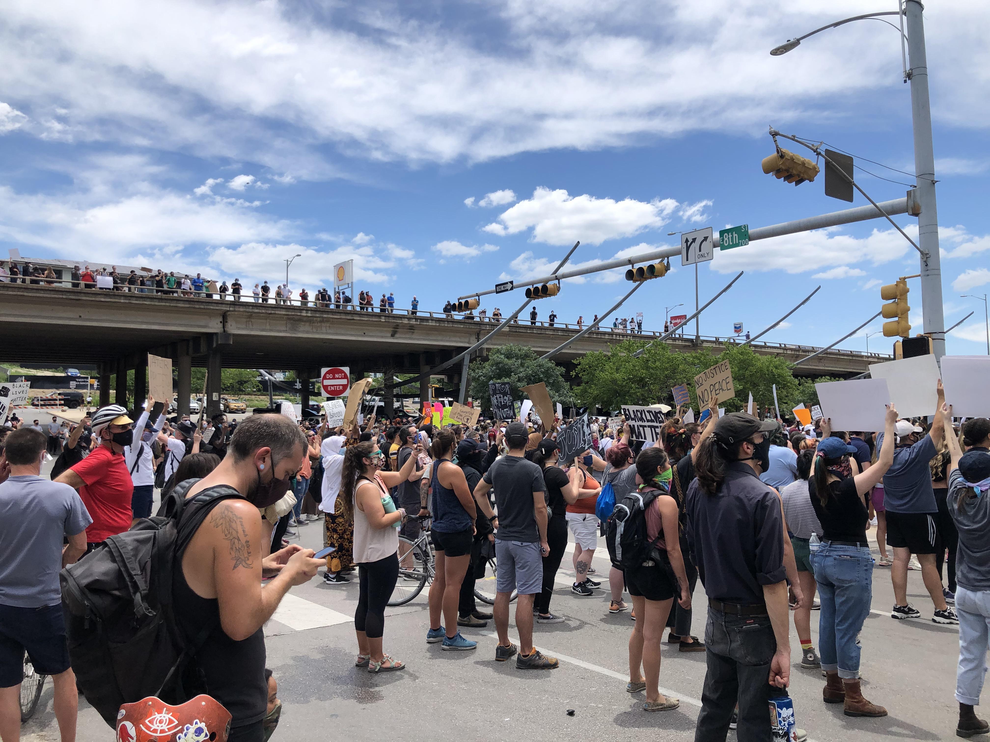 Austin protests 5-30-20