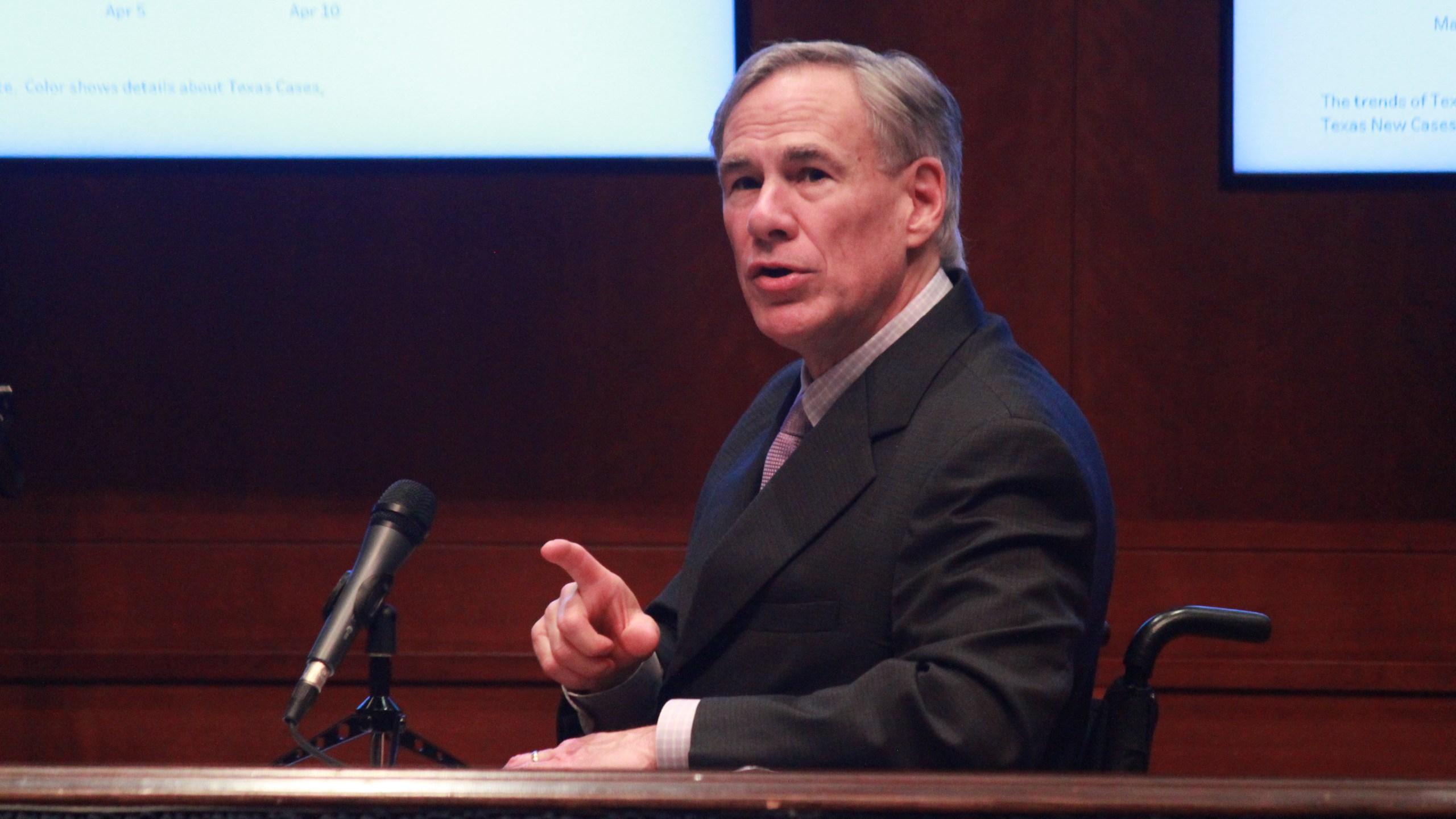 governor greg abbott coronavirus press conference 4-10-20