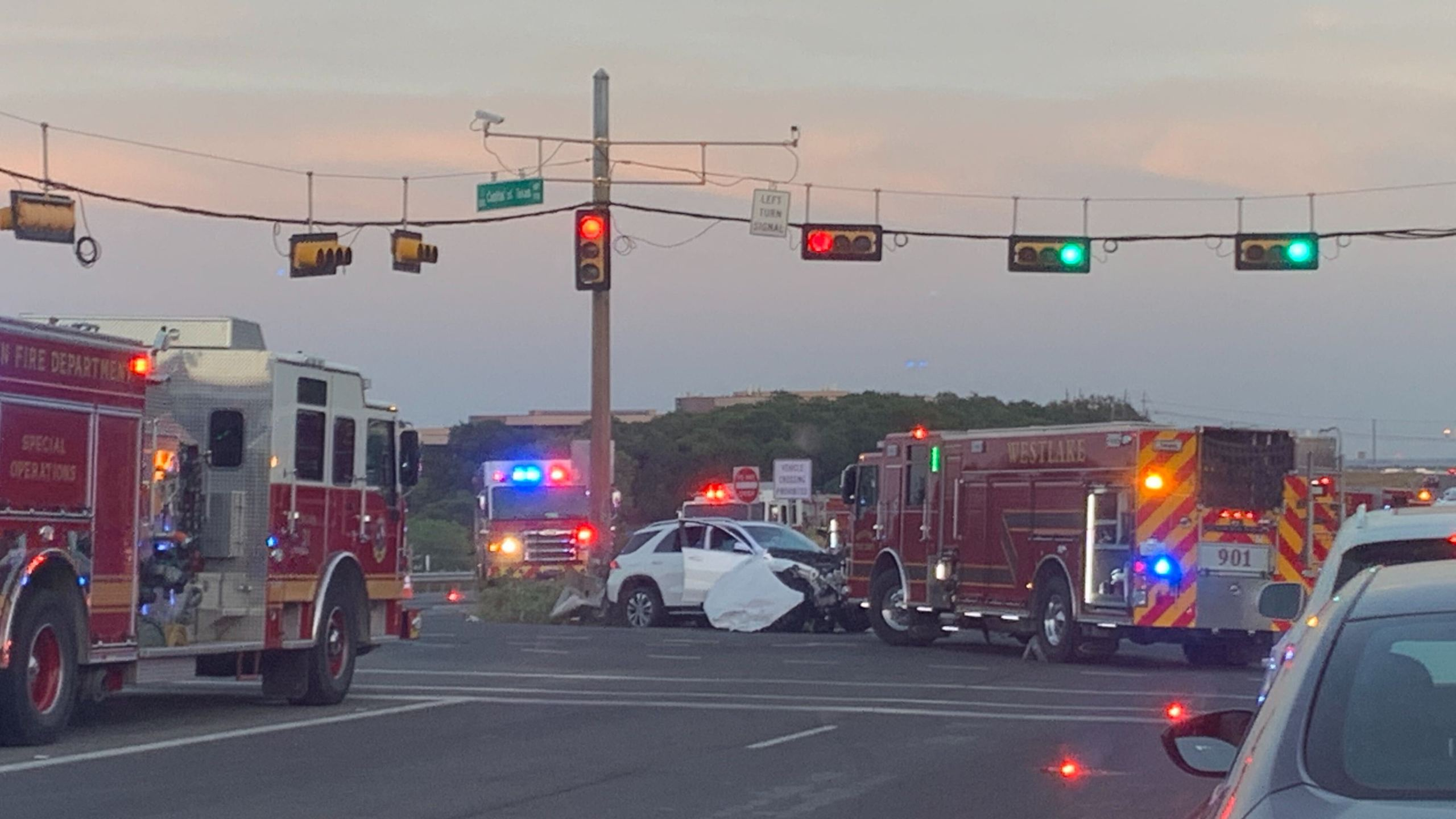 Car crash S Capital Of Texas Hwy 5-9-20