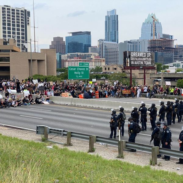 Downtown Austin protests 5-31-20