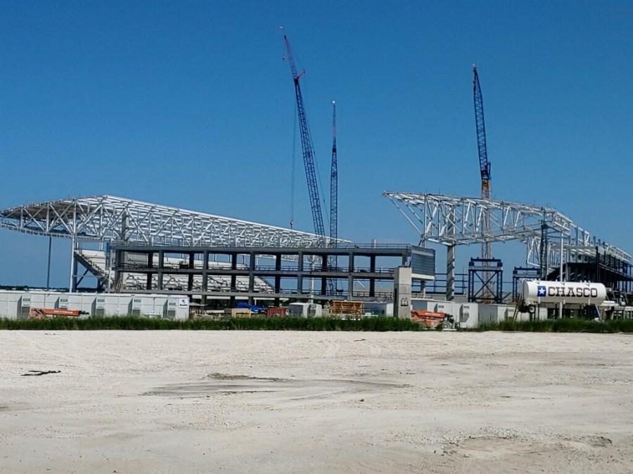 McKalla Place construction