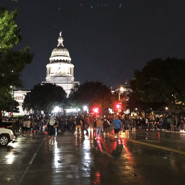 protests near Texas Capitol 5-31-20