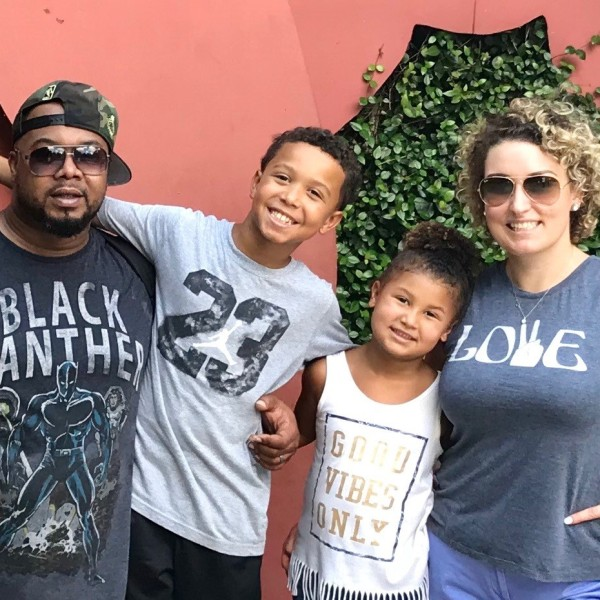 The Ward family. (Source: Carla Ward)