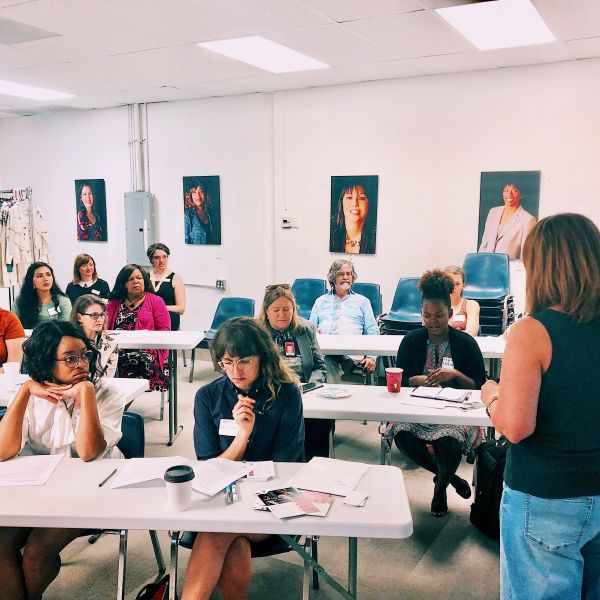 Dress for Success Austin hosts career classes for women. (Source: Dress for Success Austin)