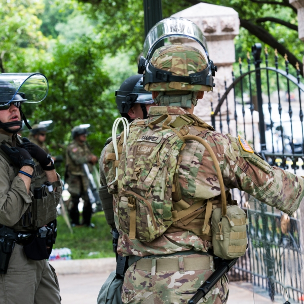 Texas National Guard Supports Local Law Enforcement