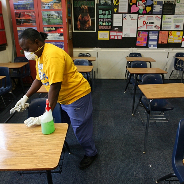 Fort Worth Classroom File Photo from 2009 (Photo by Tom Pennington/Getty Images)